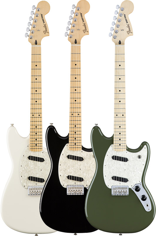Fender Mustang (Maple Fingerboard) [Made In Mexico] 【特価】