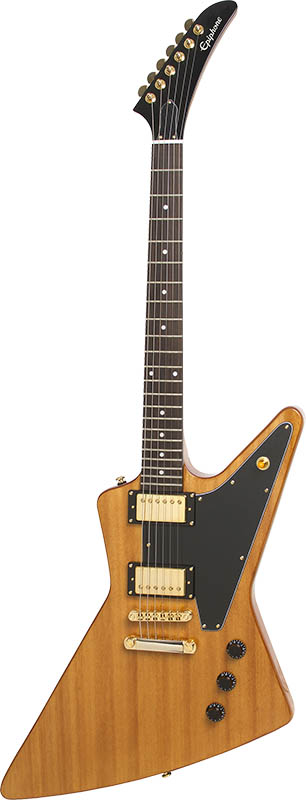 Epiphone By Gibson Limited Edition Korina Explorer (Antique Natural)