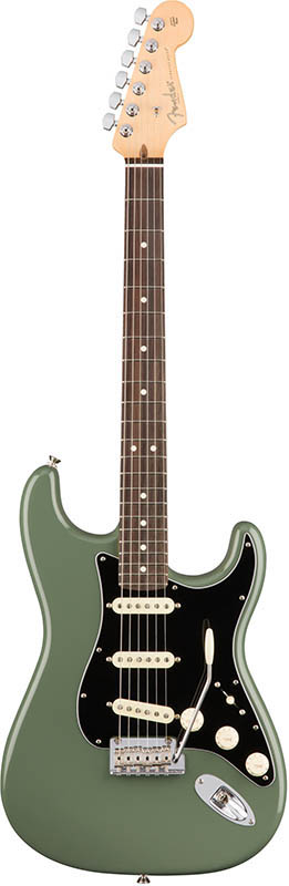 Fender American Professional Stratocaster (Antique Olive/Rosewood) [Made In USA] 【ikbp5】