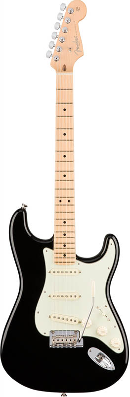 Fender American Professional Stratocaster (Black/Maple) [Made In USA] 【ikbp5】