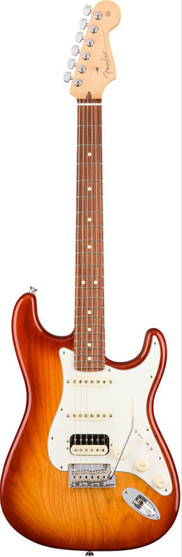 Fender American Professional Stratocaster HSS Shawbucker (Sienna Sunburst/Rosewood) [Made In USA] 【ikbp5】