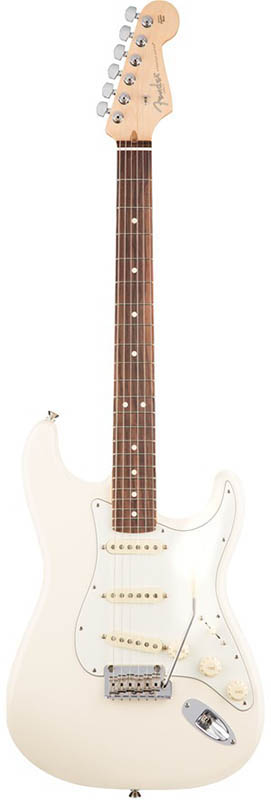 Fender American Professional Stratocaster (Olympic White/Rosewood) [Made In USA] 【ikbp5】