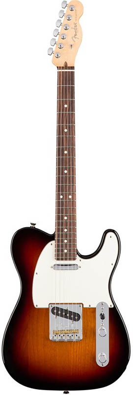 Fender American Professional Telecaster (3-Color Sunburst/Rosewood) [Made In USA] 【ikbp5】