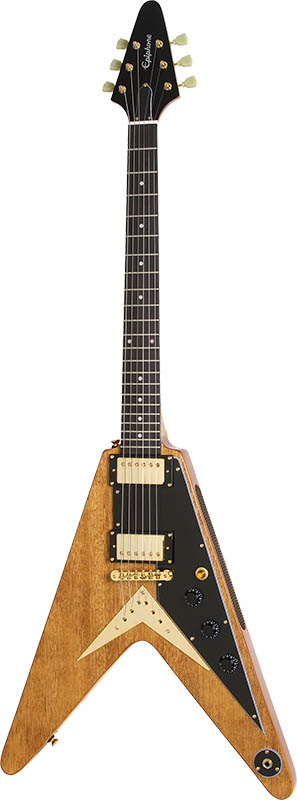 Epiphone By Gibson Limited Edition Korina Flying-V (Antique Natural)