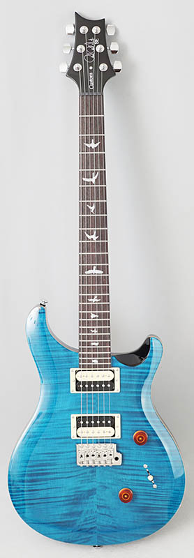 P.R.S. Japan Limited SE CUSTOM 24 Bird Inlay [Beveled Maple Top] (Blue Matteo)【数量限定オリジナル木製USBメモリープレゼント】