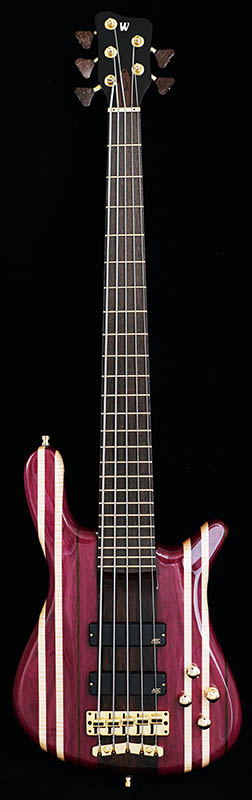 "Warwick Custom Shop Streamer Stage I 5st ""Rainbow Stripe"" [# L162141-16] 【Factory Order Model 豪華特典!】"