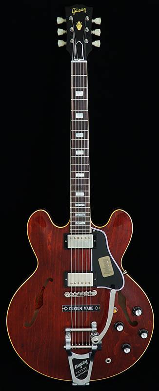 Gibson Custom Shop Historic Collection 1963 ES-335 Block Reissue Plain Top w/ Bigsby VOS (Antique Viking Red) 【ikbp5】