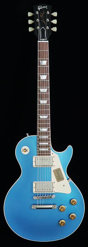 Gibson CUSTOM SHOP IKEBE Order Standard Historic 1957 Les Paul Reissue Natural Back VOS Bahama Blue 【ikbp5】