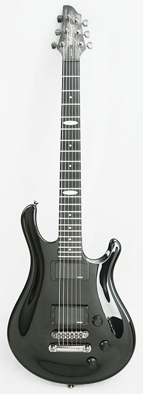 Flaxwood VASARA w/EMG Pickups Gloss Black 【キズ有り特価】