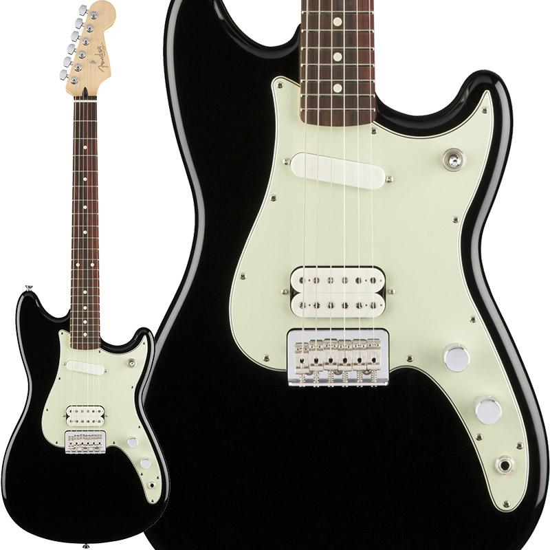 Fender Duo-Sonic HS HS (Black/Pau In Ferro) [Made Ferro) In Mexico]【ikbp5】, 【高い素材】:adb69a46 --- officewill.xsrv.jp