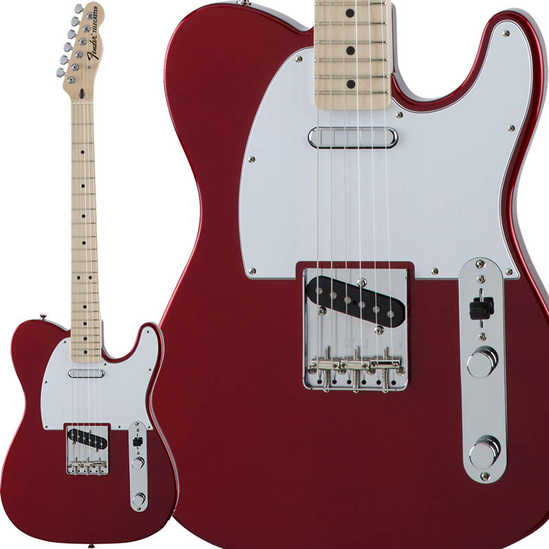 Fender Traditional 70s Telecaster Ash (Candy Apple Red/Maple) [Made in Japan] 【ikbp5】