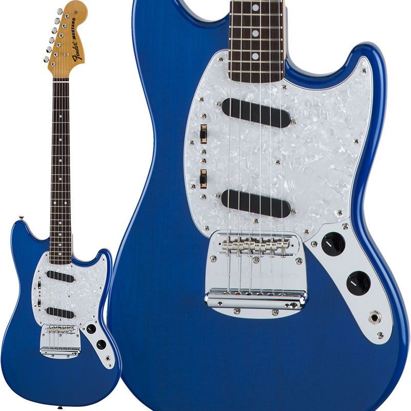 Fender Traditional 70s Mustang (Sapphire Blue Trans) [Made in Japan] 【生産完了特価】