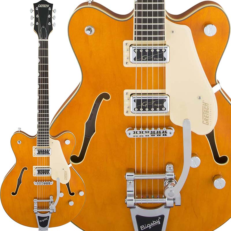 GRETSCH Electromatic Collection G5622T Electromatic Center Block Double-Cut with Bigsby (Vintage Orange)