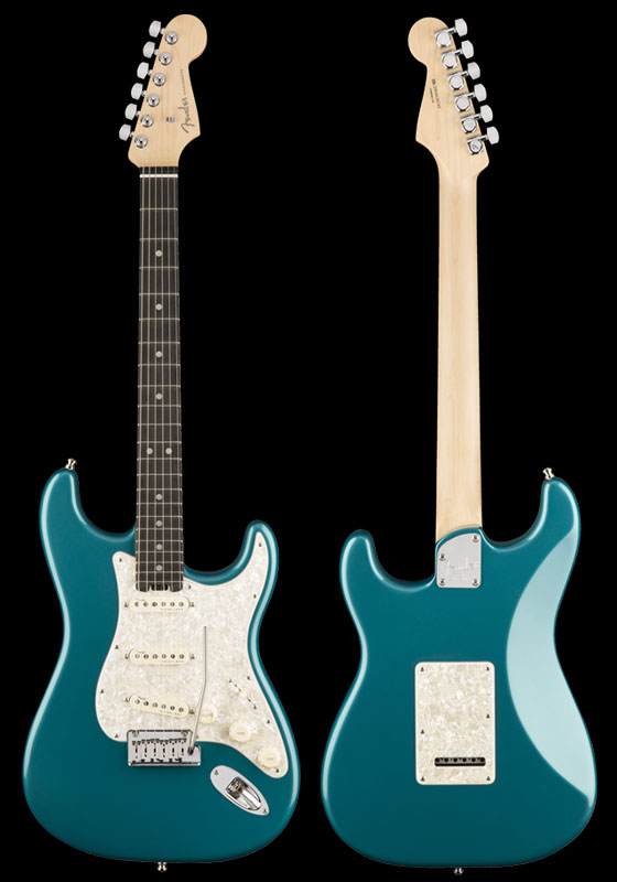 Fender American Elite Stratocaster (Ocean Turquoise/Ebony) [Made In USA] 【ikbp5】