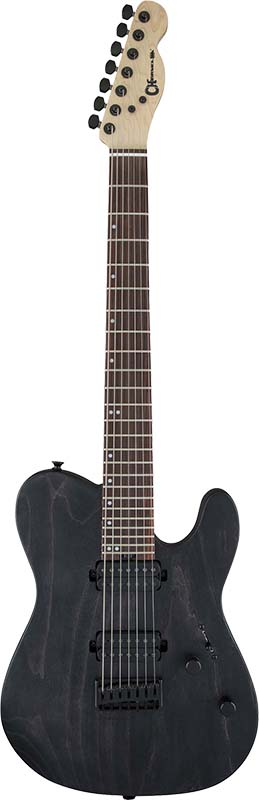 Charvel Pro-Mod Series SAN DIMAS STYLE 2-7 HH HT ASH (Charcoal Gray Stain)