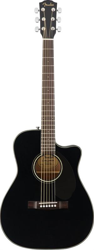 Fender Acoustics CC-60SCE (BLK) 【ikbp5】