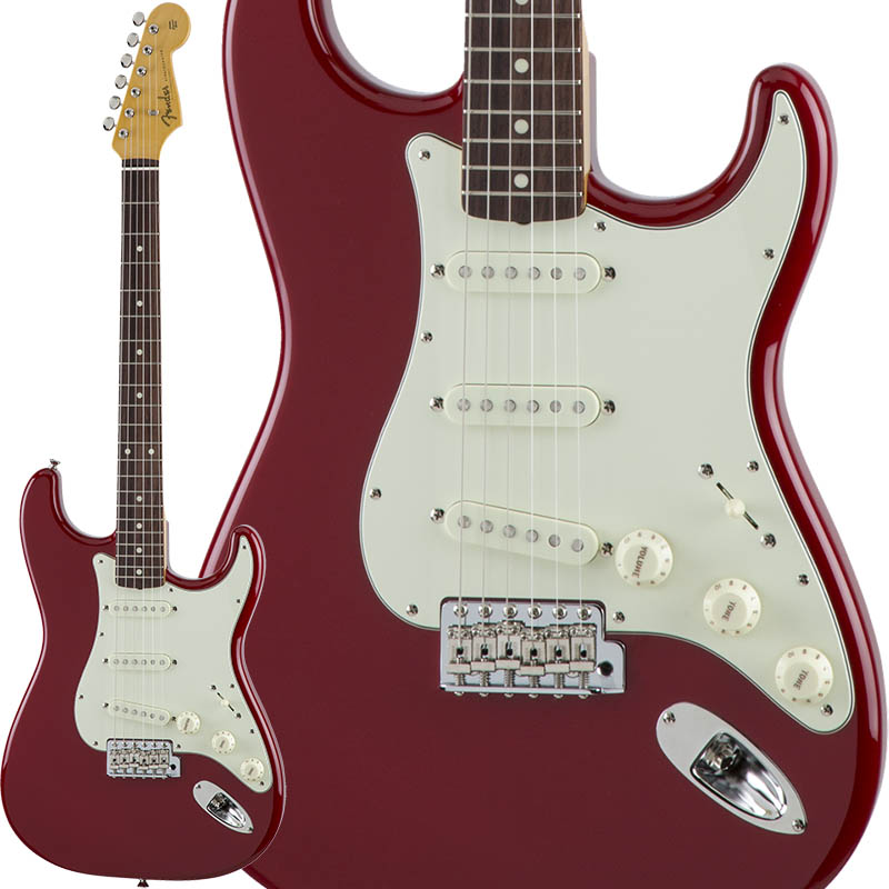 Fender Traditional 60s Stratocaster (Torino Red) [Made in Japan] 【ikbp5】
