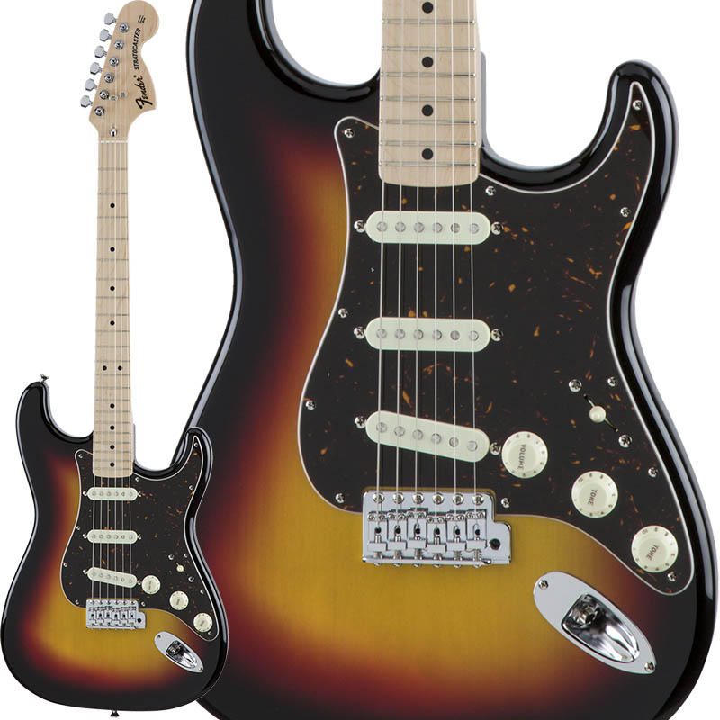 Fender Traditional 70s Stratocaster (3-Color Sunburst/Maple) [Made in Japan] 【生産完了特価】