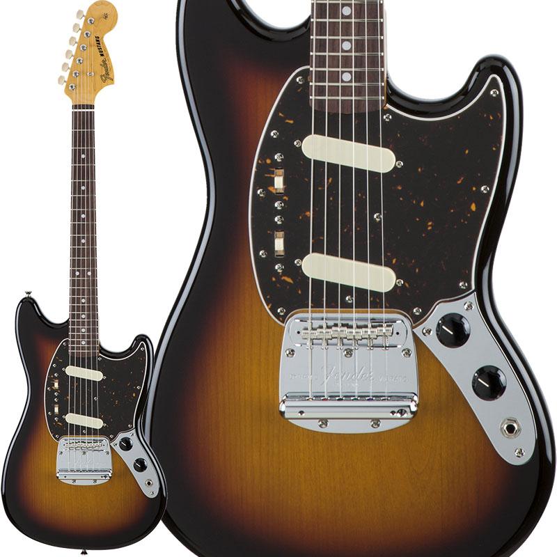 【エレキギター】 Fender Traditional 60s Mustang (3-Color Sunburst) [Made in Japan] 【ikbp5】 【今ならVOX Pathfinder 10をプレゼント!!】