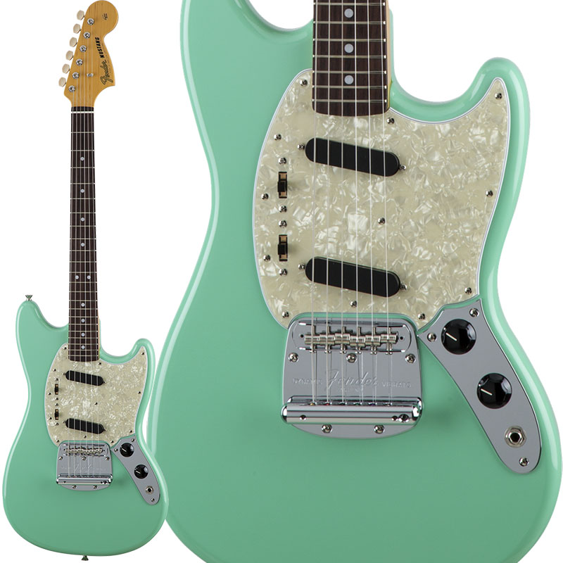Fender Traditional 60s Mustang (Surf Green) [Made in Japan] 【ikbp5】
