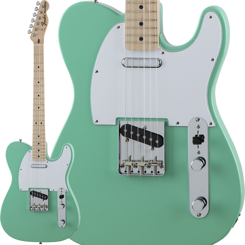 Fender Traditional 70s Telecaster Ash (Surf Green/Maple) [Made in Japan] 【ikbp5】