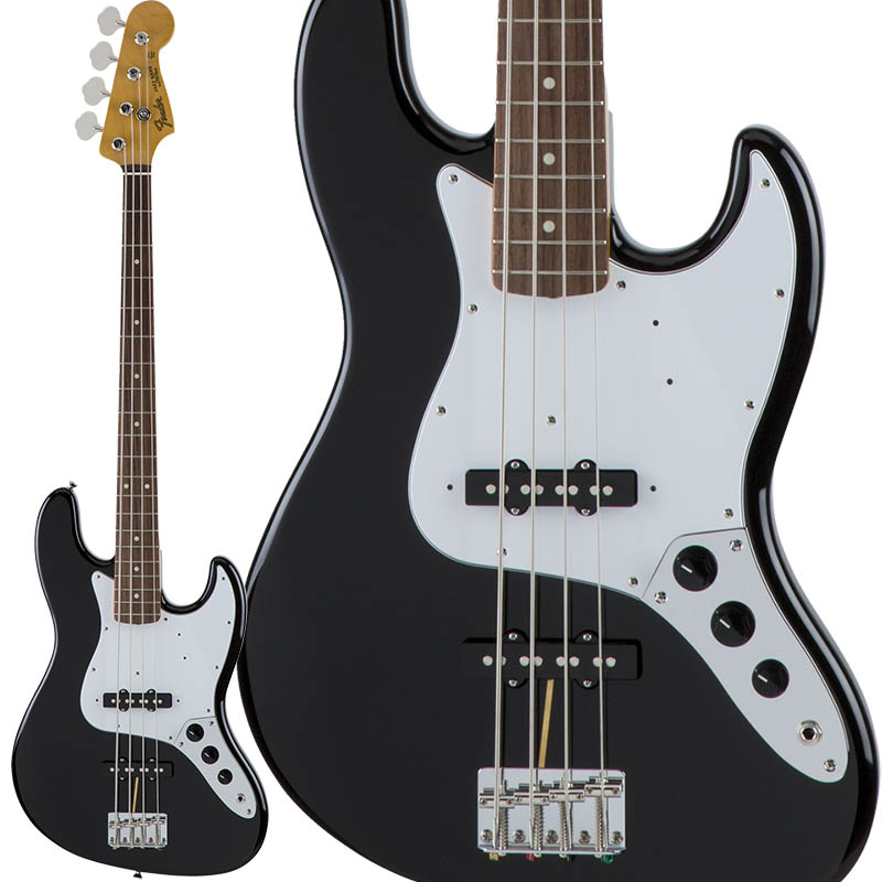 Fender Traditional 60s Jazz Bass (Black) [Made in Japan] 【ikbp5】