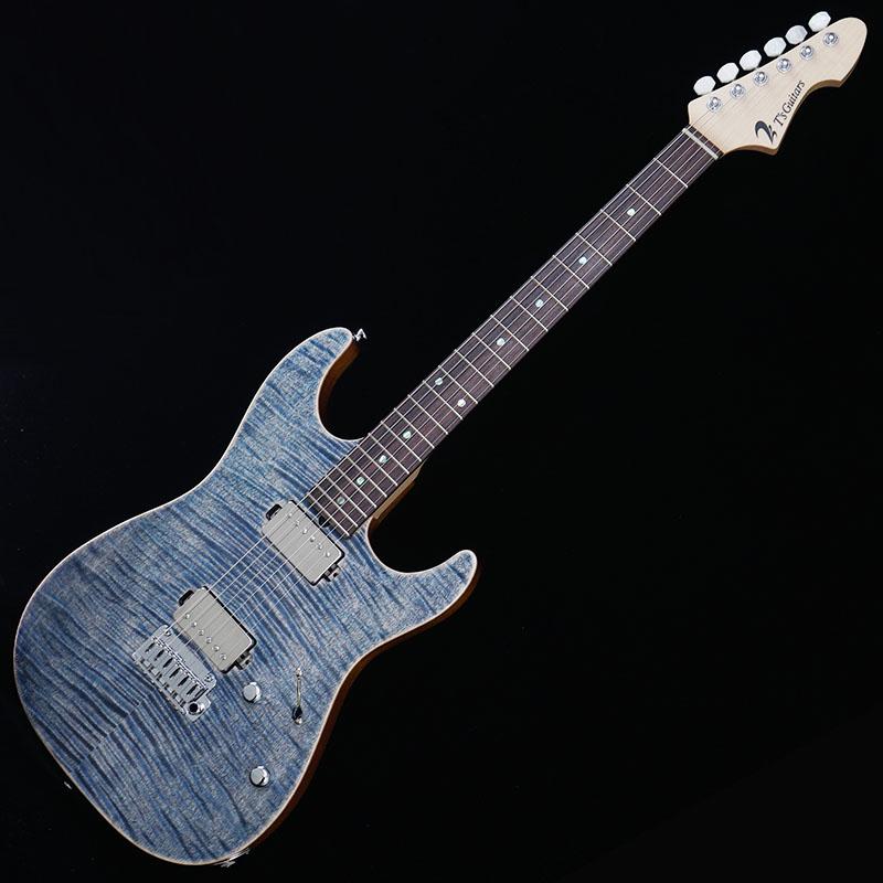 T's Guitars DST-DX22 w/Buzz Feiten Tuning System (Trans Blue Denim)