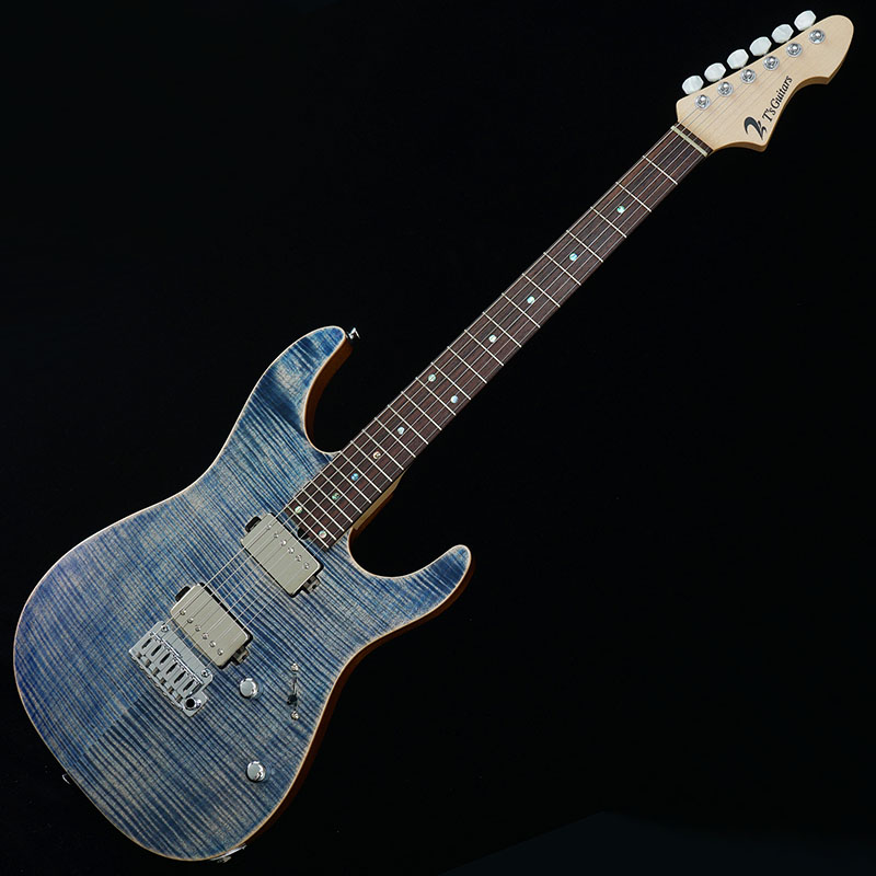 T's Guitars DST-DX24 w/Buzz Feiten Tuning System (Trans Blue Denim)