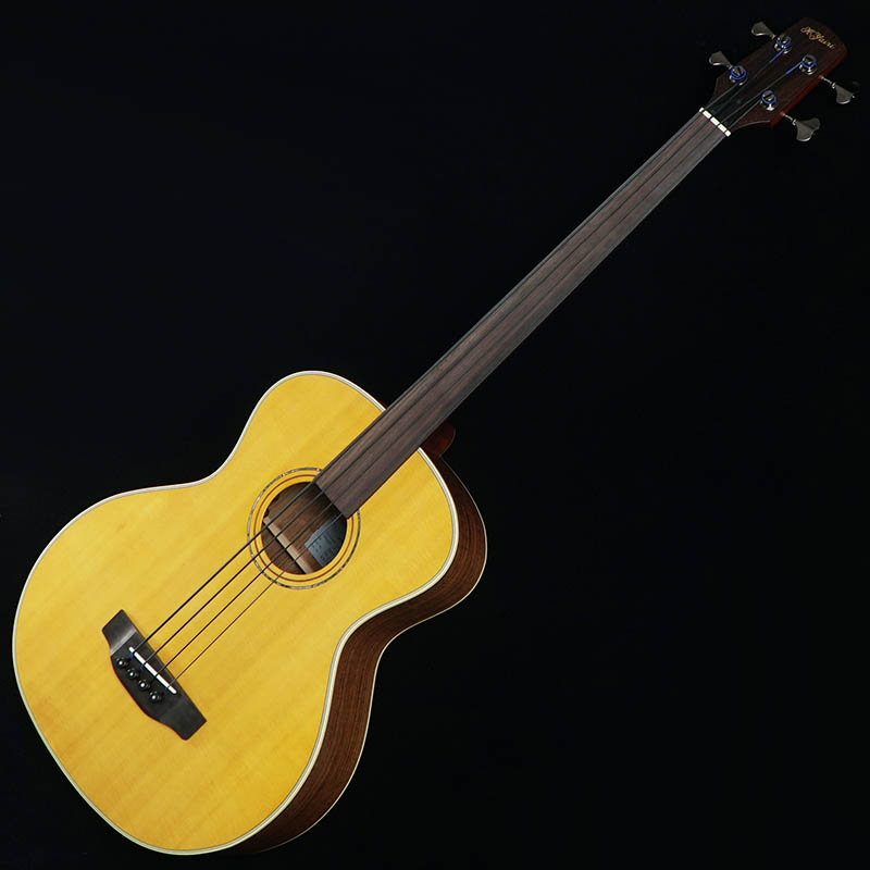 K.Yairi YB-2FL w/Black Nylon Strings