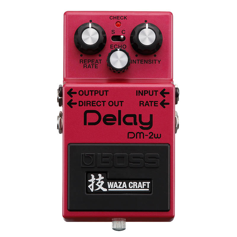 BOSS DM-2W(J) [MADE IN JAPAN] [Delay 技 Waza Craft Series Special Edition] 【ikbp5】 【期間限定★送料無料】 【IKEBE×BOSSオリジナルデザインピックケースプレゼント】 【BOSS Effects TONE FREEZE Campaign 2018 対象商品】