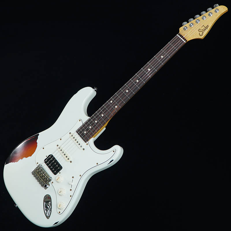 Suhr Guitars 2017 Limited Edition Classic Antique Pro (Olympic White over 3 Tone Burst/Indian Rosewood) [#JS4F2L] 【特価】