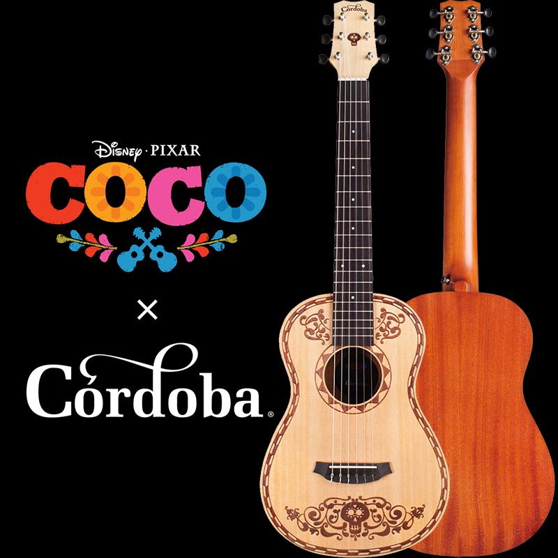 COCO × Cordoba Mini SP [ディズニー/ピクサー映画「リメンバー・ミー」オフィシャルギター]