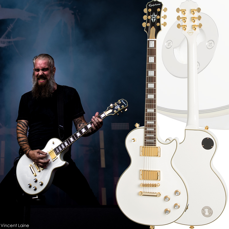"""Epiphone by Gibson Limited Edition Bjorn Gelotte """"Jotun"""" Les Paul Custom Outfit"""