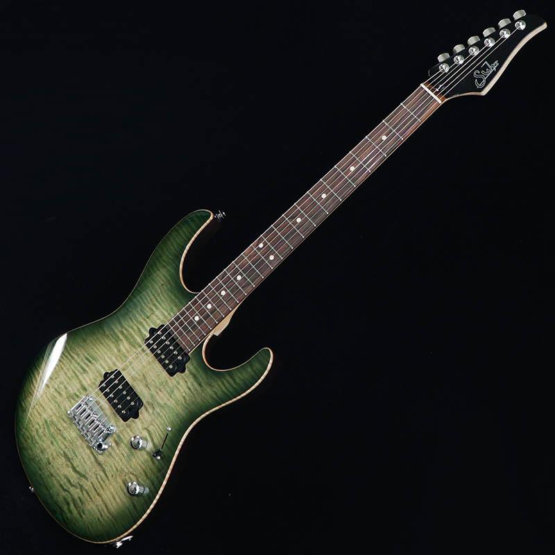 Suhr Guitars Japan Limited Model Pro Series Modern Pro Ash 510 HH Trans Green Burst/Pau Ferro [#JS0H3D] 【特価】