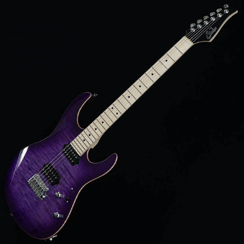 Suhr Guitars Japan Limited Model Pro Series Modern Pro Ash 510 HH Trans Purple Burst/Maple [#JS0A1A] 【PGC-OTHERS】