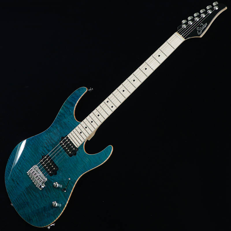 Suhr Guitars Japan Limited Model Pro Series Modern Pro Ash 510 HH Trans Teal/Maple [#JS6T3R] 【PGC-OTHERS】