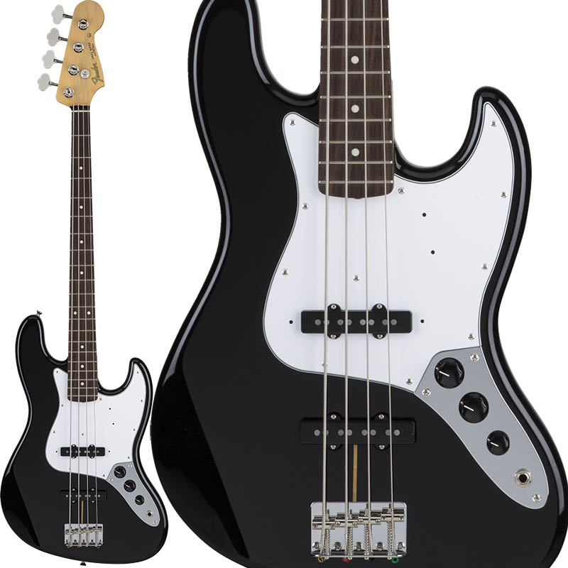 Fender Made in Japan Hybrid 60s Jazz Bass (Black) [Made in Japan] 【ikbp5】