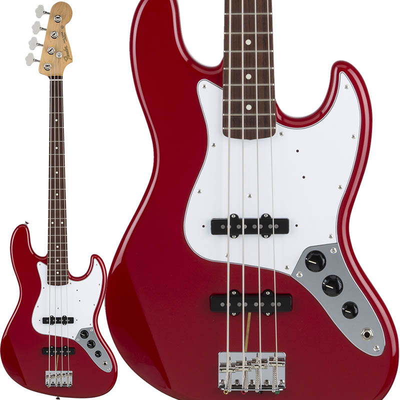 Fender Made in Japan Hybrid 60s Jazz Bass (Torino Red) [Made in Japan] 【ikbp5】 【お取り寄せ品】