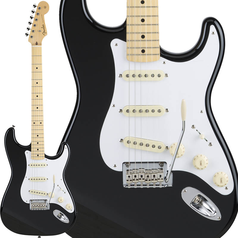 Fender Made in Japan Hybrid 50s Stratocaster (Black) [Made in Japan] 【ikbp5】