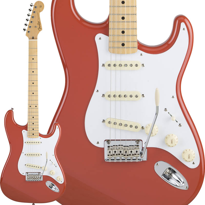 Fender Made in Japan Hybrid 50s Stratocaster (Fiesta Red) [Made in Japan] 【ikbp5】