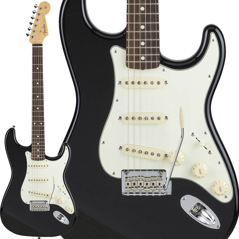 Fender Made in Japan Hybrid 60s Stratocaster (Black) [Made in Japan] 【ikbp5】