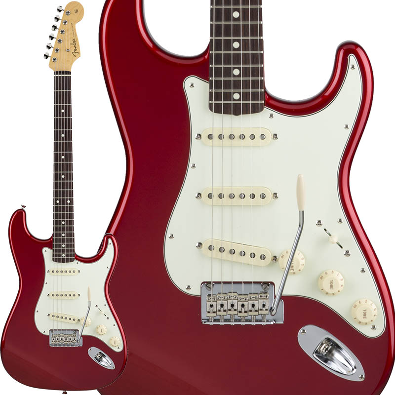 Fender Made in Japan Hybrid 60s Stratocaster (Candy Apple Red) [Made in Japan] 【ikbp5】