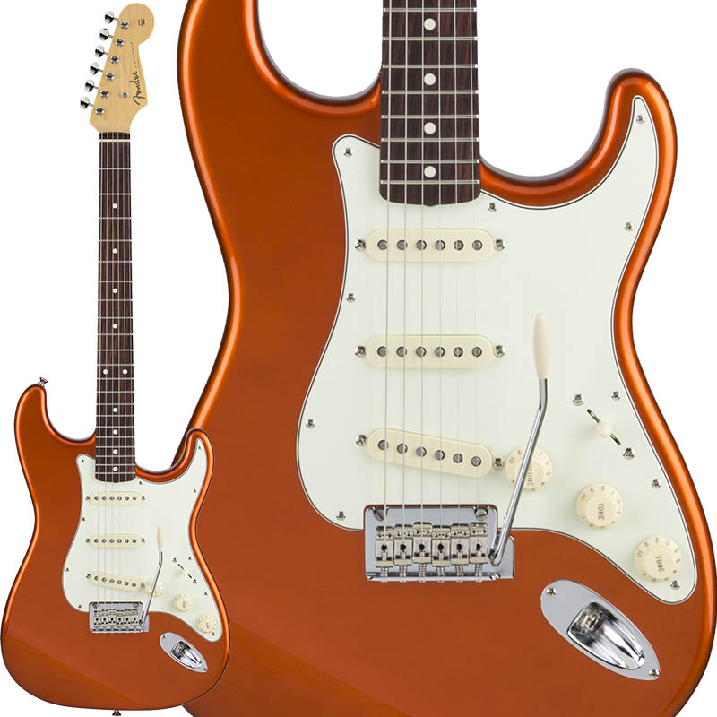 Fender Made in Japan Hybrid 60s Stratocaster (Candy Tangerine) [Made in Japan] 【ikbp5】