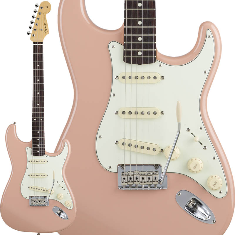 Fender Made in Japan Hybrid 60s Stratocaster (Flamingo Pink) [Made in Japan] 【ikbp5】