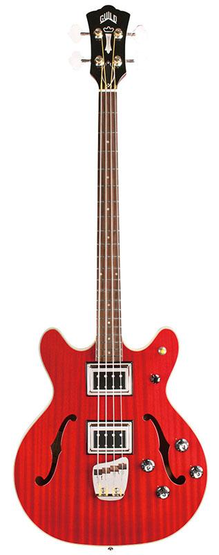 GUILD STARFIRE BASS II (Cherry Red)