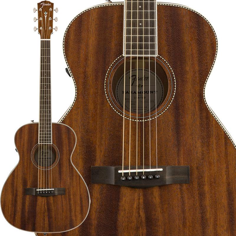 Fender Acoustics PM-TE Standard Travel All-Mahogany 【特価】