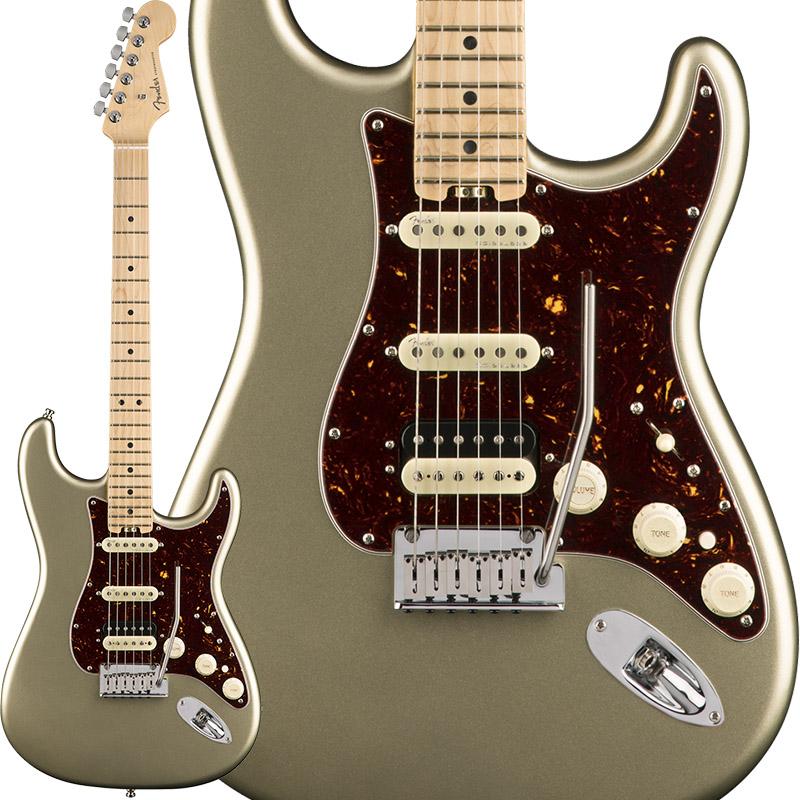 Fender American Elite Stratocaster HSS Shawbucker (Champagne/Maple) [Made In USA] 【大幅プライスダウン!】 【ikbp5】