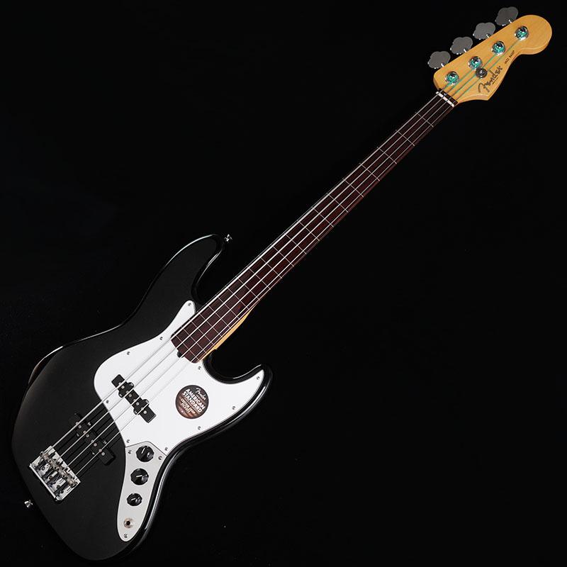Fender USA Ikebe Original Mod. American Standard Jazz Bass Fretless with coated Fretboard (Black/Rosewood) 【特価】