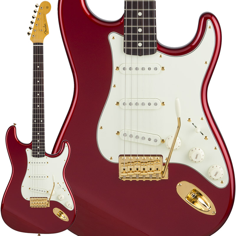 【本日特価】 Fender(フェンダー)エレキギター Hardware Traditional 60s Stratocaster with Gold Apple Hardware (Candy Apple with Red) [Made in Japan]【ikbp5】 新品 ストラトキャスター, 標津町:2daf094a --- inglin-transporte.ch