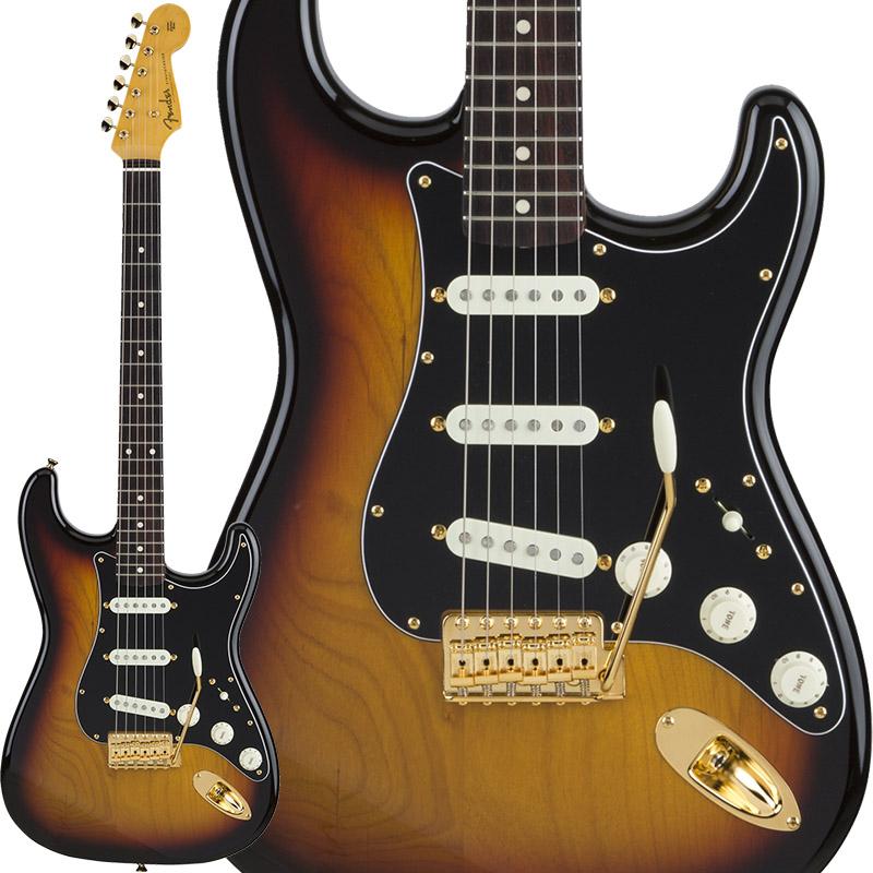 Fender Traditional 60s Stratocaster with Gold Hardware (3-Color Sunburst) [Made in Japan] 【ikbp5】